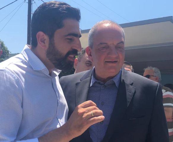 Περιοδεία με τον πρώην Πρωθυπουργό Κώστα Καραμανλή