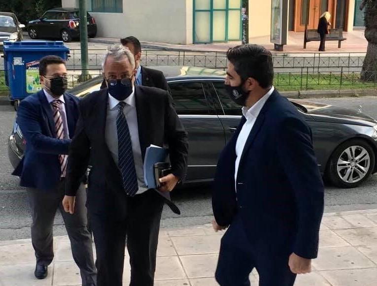 Στα γραφεία του ΟΠΕΚΕΠΕ ο Υπουργός κ. Μ.Βορίδης